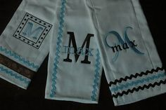 Doing Personalized Baby Clothes: Customized Personalized Baby Burp Cloths – Baby Clothes | Baby Outfits