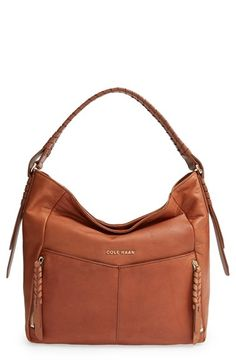 Cole Haan 'Felicity' Leather Hobo available at #Nordstrom