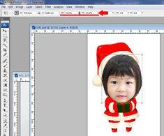 매년 크리스마스 때 마다 바빠지는 교사의 손길. 산타모자 그림을 오려 붙이거나, 접어 붙이는 수고를 덜고... Korean Crafts, Diy And Crafts, Paper Crafts, Photo Booth, Chibi, Origami, Christmas Crafts, Photoshop, Clip Art