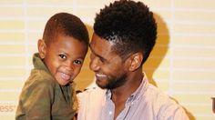 Usher & son