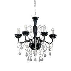 #oswietlenie Lilly SP5 #decortis #projekty #wnetrz #domowy.pl #glamour