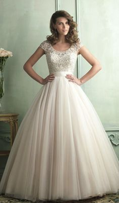 Allure Bridals Spring 2014 - Part 1 - Belle the Magazine . The Wedding Blog For The Sophisticated Bride This. #wedding