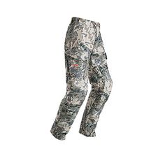 Sitka Mountain Pant, Optifade Open Country, 33 R Articulated Patterning New Softer & Lighter Removable Knee Pad Low Profile Belt System Side Cargo Pockets DWR Finish