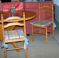 Para obtener una silla original a partir de una muy muysencilla, basta con un poco de pintura… e inmediatamente renovarás su aspecto y sin afrontar grandes gastos.