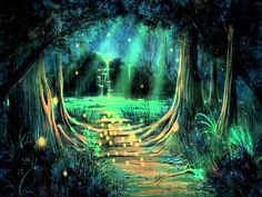 Image result for enchanted forest background Forest wallpaper Enchanted forest Fantasy landscape