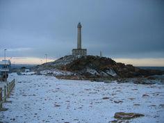 Faro nevado cabo de palos 2005