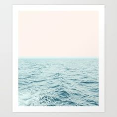 Art Print featuring Sea Breeze #society6 #decor #style #tech by 83 Oranges™