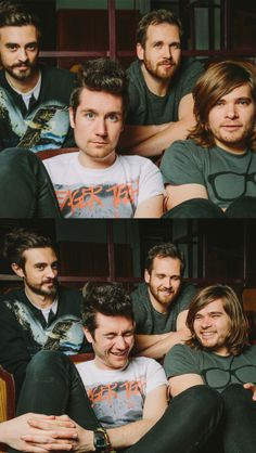 """We are the most serious, of serious bands, don't you know."" *one of them farts* ""... Was that you?"" *Suddenly laughter*"