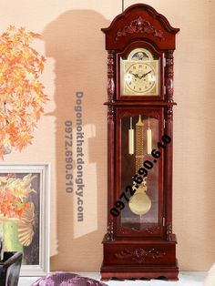 Mẫu đồng hồ đẹp dùng làm quà tặng, Quà biếu DH110 ( Cung cap Dong ho cay, dong ho dep,Đồng hồ quả lắc dung lam qua tang qua bieu,Dong ho kieu duc,dong ho dung,dong ho co)