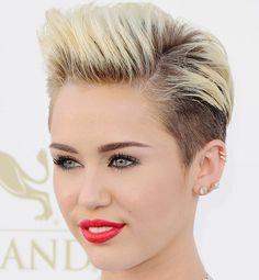 Best Celebrity Pixie Cuts of All Time - Miley Cyrus