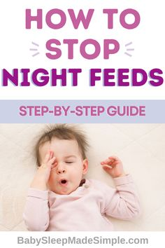 Whether you're breastfeeding or bottle feeding, it can be exhausting to wake up for numerous night wakings to feed your baby throughout the night. Doctor's recommend age and weight specific feedings for babies, and this is the ultimate guide to find out the best advice on what your baby needs and how to wean off night feedings for your baby or toddler. #nightweaning #nightweaningtips #babysleep #newbornsleep #childsleep #weaningnightfeedings #nightfeedings #nightwakings #breastfeeding #mom Feeding Baby Solids, Solids For Baby, Breastfeeding Problems, Breastfeeding Tips, Co Parenting, Gentle Parenting, Colic Baby, Baby Sleep Schedule, Working Mom Tips