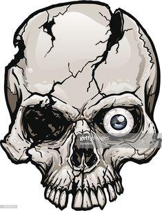Evil Skull Tattoo, Skull Tattoos, Dark Artwork, Skull Artwork, Sketch Tattoo Design, Skull Tattoo Design, Bugs Bunny Drawing, Skull Coloring Pages, Skull Stencil