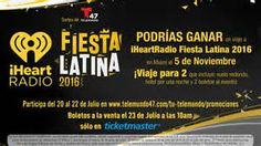 Get your tickets today for the iHeartRadio Fiesta Latina with Enrique Iglesias, Pitbull & Daddy Yankee being held at the American Airlines Arena in Miami on Nov. 5, 2016. Look here for tickets: