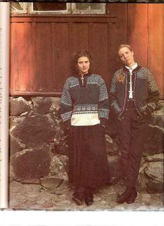 In the damp sea air, a knitted Knitting Blogs, Knitting Patterns, Sweater Patterns, Norwegian Style, Norway, Knit Crochet, Most Beautiful, Jumpers, Knits