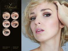 Natural Brown #tutorial #makeup #blogicony