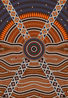 Secret A illustration based on aboriginal style of dot painting depicting secret. Included jpg and eps file. Created: GraphicsFilesIncluded: JPGImage Layered: No MinimumAdobeCSVersion: CS Tags: aboriginal Aboriginal Symbols, Aboriginal Dot Painting, Dot Art Painting, Painting Patterns, Aboriginal Patterns, Painting Templates, Aboriginal Tattoo, River Painting, Art Patterns