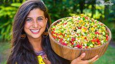 Epic FullyRaw Mexican Sweet Corn Salad! - YouTube