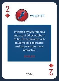 Custom Card Deck! Discover Web Design Trends 2004-2014 https://www.pinterest.com/templatemonster/win-the-web-design-trends-cards/  #webdesigntrends   #flashwebsites