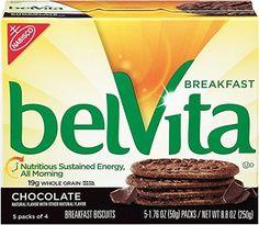 belVita Breakfast Biscuits, Chocolate, 5 Count, 8.8 Ounce Box (Pack of 6) - http://sleepychef.com/belvita-breakfast-biscuits-chocolate-5-count-8-8-ounce-box-pack-of-6/