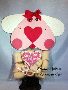 Dog treat Valentines