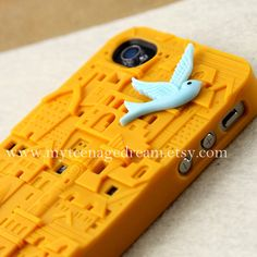 yellow European Style Building Hard Case for by MyTeenageDream, $15.99