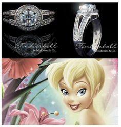 Bague de fiançailles inspiré des princesses disney ! Super ! #B4wedding #wedding #mariage #princesse #bague #ring