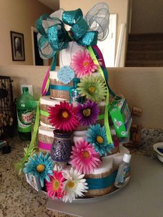 Housewarming toilet paper cake. Housewarming gifts.