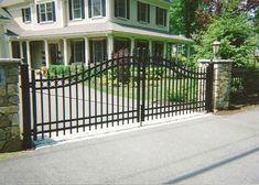 Custom Aluminum Entry Gate