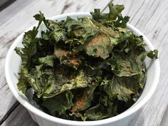 Best of Long Island and Central Florida: Spicy Baked Kale Chips