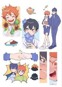 Haikyuu Fanart, Haikyuu Anime, Anime Stickers, Cute Stickers, Fanarts Anime, Anime Characters, Character Art, Character Design, Coque Iphone 6
