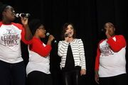 """""""Pretty Little Liars"""" star Lucy Hale will perform with Soul'd Out, Wilsonville High School's a cappella choir, at a concert June 8 to raise awareness for the cause of meningitis prevention. The event happens at Wilsonville High School."""