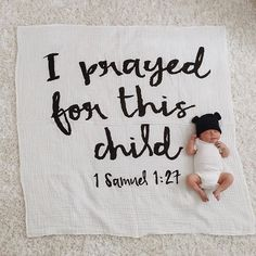 What a beautiful reminder to prevail with God in prayer and give Him the opportunity and the room to work! Answered prayer + the cutest baby bear shared by Cute Babies, Baby Kids, Baby Boy, Baby Pictures, Baby Photos, Pregnancy Photos, 1 Samuel 1 27, Paisley, Godchild