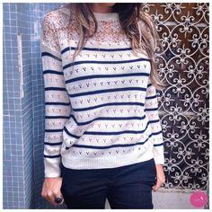 Um tricot super lindo e delicado! #Vemprazas