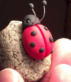 120 easy to try diy polymer clay fairy garden ideas (20)