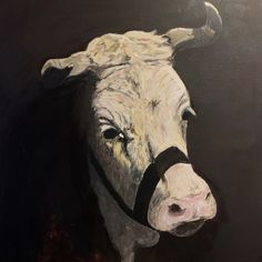 Nach einem Foto von #Nadar. 2020, Öl/Leinwand, 40x40x1,8 cm mit Lattenrahmen, rückseitig gestempelt u. signiert  #christianstadelbacher #stadelbacher #kuhmaler, #kuhbilder #portraits #kuhportrait #cowpainting  #alpenstil # landhausstil #contemporaryart #countryhousestyl #cottagestyle  #paintings #oilpainting #drawing #artgallery #fineart  #Kühe #Rinder #Cows Moose Art, Portraits, Christian, Drawing, Animals, Cow Pictures, Cattle, Cottage Chic, Canvas