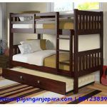 Donco Kids Full over Full Mission Bunk Bed with Twin Trundle (Assembly Required - Trundle Bed/Bunk Bed - Full over Full - Cappuccino Finish - Includes Hardware - Unisex), Brown Trundle Bed With Storage, Bunk Beds With Drawers, Under Bed Drawers, Bunk Beds With Stairs, Bed Storage, Storage Drawers, Full Size Bunk Beds, Twin Bunk Beds, Kids Bunk Beds