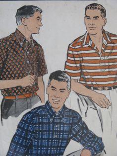 1950s men's shirt - Google Search
