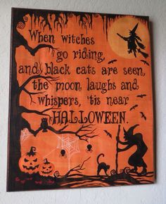 When Witches go Riding...