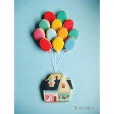 #mcookies #cookies #up #pixar #adventureisthere #balloon