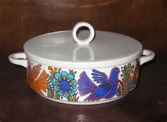 Villeroy & Boch Acapulco 1.5 Quart Round Covered Casserole Old Milano ...
