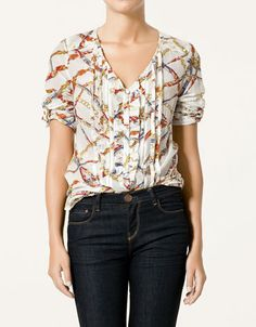 pretty blouse from Zara