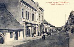 Csikszereda:Apaffi Mihály utca.1911 Utca, Street View