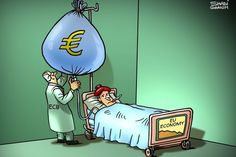 #Cartoon by Shadi Ghanim 25/1/15  #Caricature #Politics #WorldNews #EU #Economy #Europe
