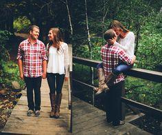 Beautiful fall engagement session by @adambeachphoto