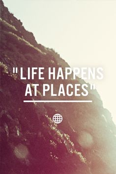 Life happens at places. Life happens on Wander. Request an invitation at http://onwander.com