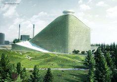 Amagerforbrændingen New Waste To Energy Plant #topotek1 #landscape #architecture #alternative #hybrid #uses