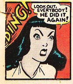 He did it again!   comic books comics out of context