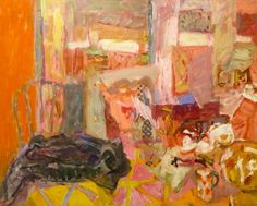 "bofransson: "" Elisabeth Cummings Bennett's Interior 2013 "" Australian Painters, Australian Artists, Painting Still Life, Paintings I Love, Abstract Paintings, Abstract Art, Contemporary Paintings, Abstract Expressionism, Painting Inspiration"