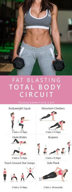 Repin and share if you enjoyed this total body circuit