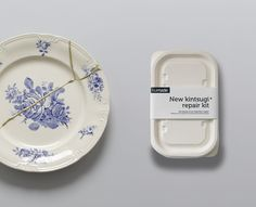 http://ifixit.org/blog/1577/kintsugi-better-than-new/  Repairing damage and admiring the piece's new beauty